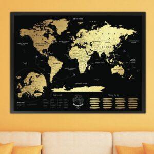 Mapa Zdrapka Świata